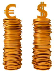 Currency equation - US dollar and Euro